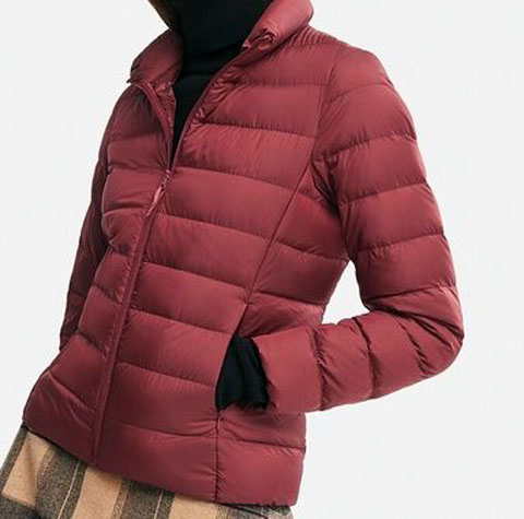 ウルトラライトダウンジャケット、16 RED