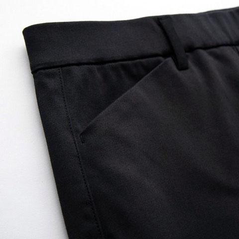 ヒートテックハイライズレギンスパンツ(丈標準76cm)、09 BLACK